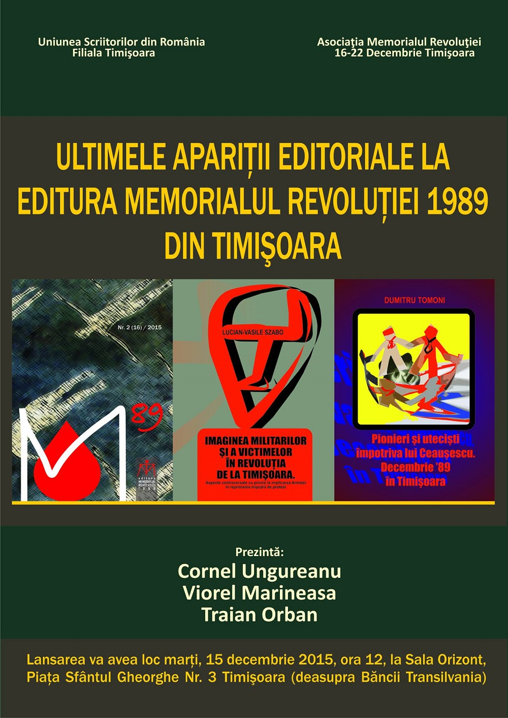 Aparitii editoriale